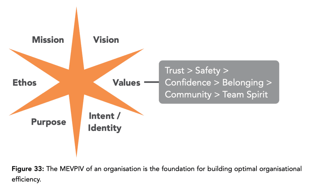 A MEVPIV creates trust and inspires employees and other stakeholders