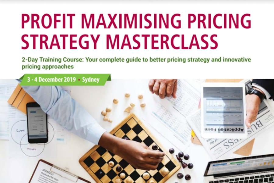 Pricing Strategy Workshop outline